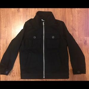 Old Navy Boys Small Synthetic Wool Coat